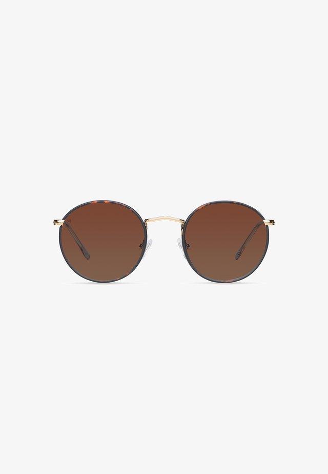 YEDEI BLUE LIGHT - Sunglasses - gold tigris