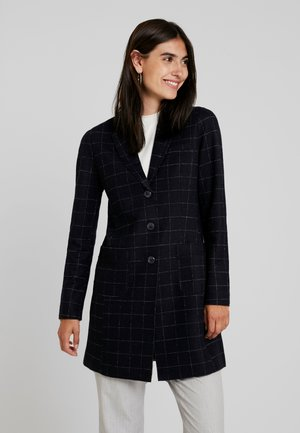 HALEY WINDOW CHECK - Classic coat - simply blue