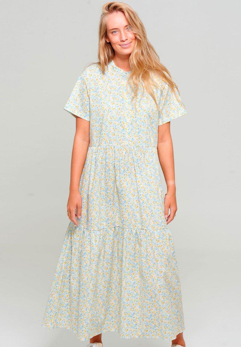 Noella - Maxi dress - yellow blue flower