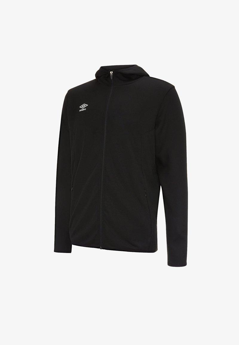 Umbro - Fleece jacket - schwarzweiss