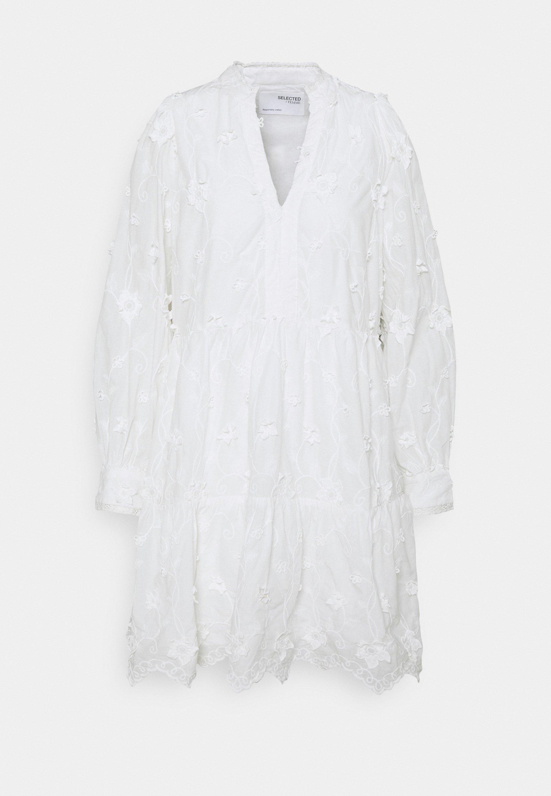 Women SLFAPPLIQUE SHORT DRESS - Day dress