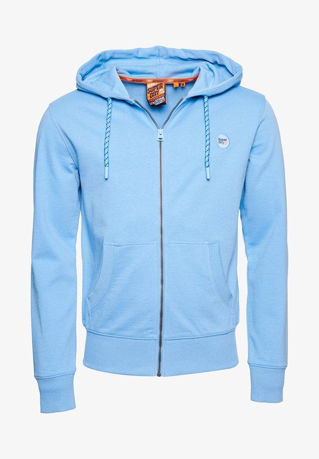 SUPERDRY HERREN SWEATJACKE - veste en sweat zippée - brea blue