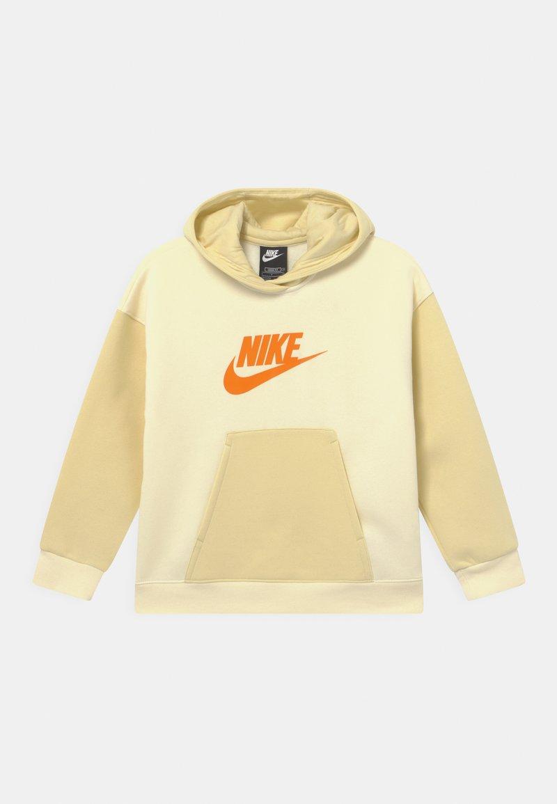 Nike Sportswear - HOODIE - Sweatshirt - coconut milk/lemon drop/bright mango