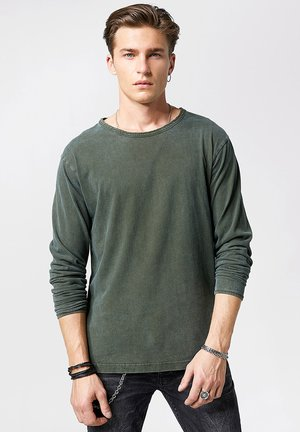 JONAH - Long sleeved top - vintage forest green