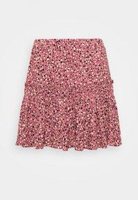 Mavi - PRINTED SKIRT - Mini skirt - mesa rose - 3