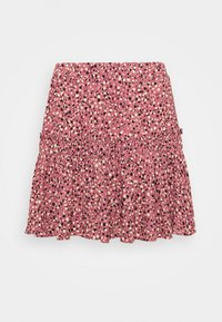 PRINTED SKIRT - Mini skirt - mesa rose