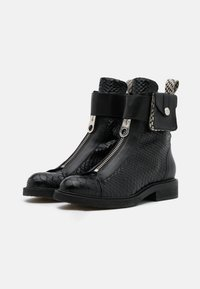 Billi Bi - Cowboy/biker ankle boot - black - 2