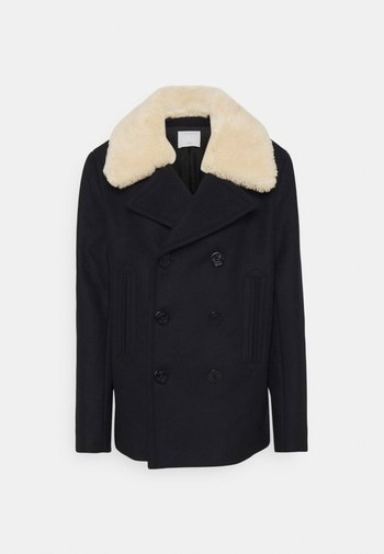 Classic coat - marine