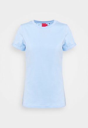 THE PLAIN TEE - Jednoduché triko - light pastel blue