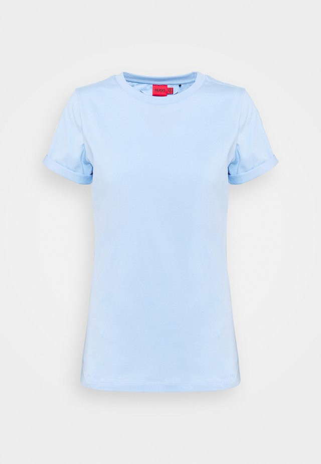 THE PLAIN TEE - T-Shirt basic - light pastel blue