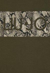 Liu Jo Jeans - ABITO UNITA - Jersey dress - army - 2