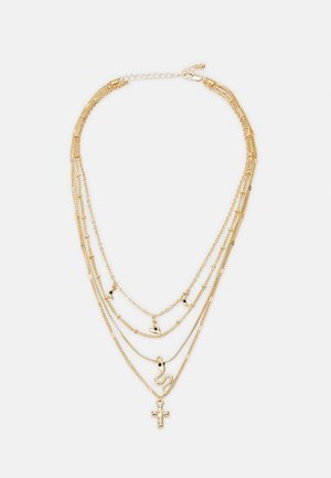 FGBINNE COMBI NECKLACE - Necklace - gold-coloured