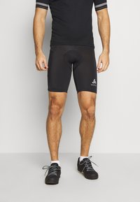 ODLO - SHORT ELEMENT - Leggings - black - 0