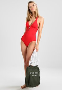 s.Oliver - Swimsuit - red - 1