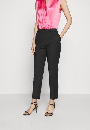 BELLO PANTALONE TECNICO - Spodnie materiałowe - black