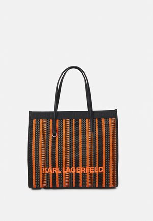 SKUARE TOTE - Tote bag - orange