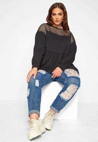 Yours Clothing - Sweatshirt - black - 1