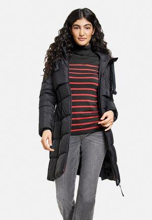 NICHT WOLLE STEPP  MIT KAPUZE - Winter coat - charcoal