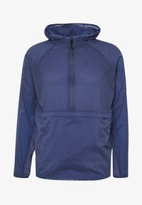 QUALIFIER WEIGHTLESS PACKABLE JACKET - Löparjacka - blue ink
