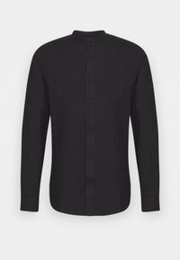 Only & Sons - ONSBRENT DOBBY MANDARINE - Shirt - dark navy - 3