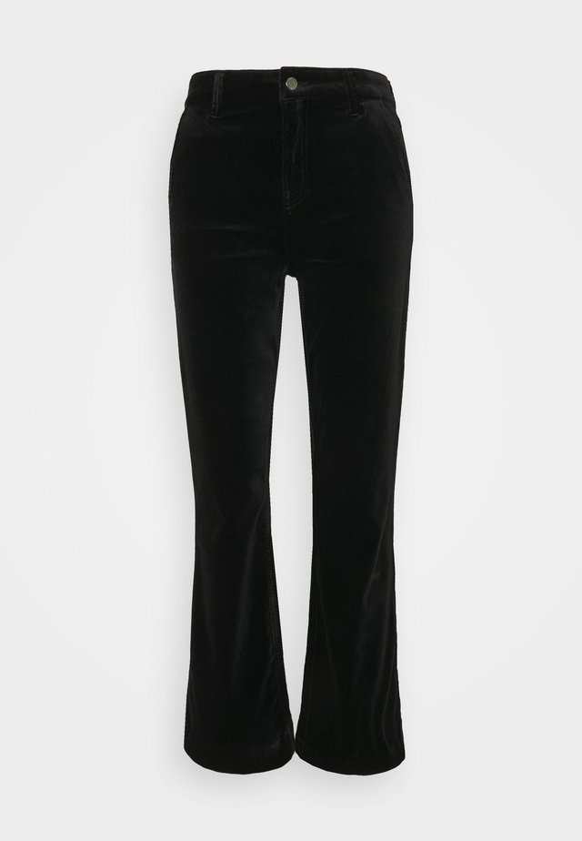 JENORA - Flared Jeans - black