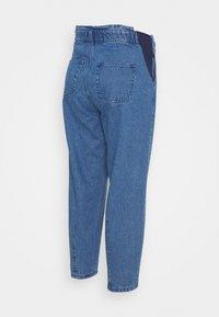 MAIAMAE - BALLOON - Straight leg jeans - mid wash - 1