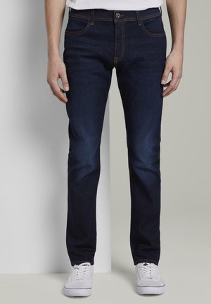 TOM TAILOR JEANSHOSEN TROY SLIM JEANS - Slim fit jeans - rinsed blue denim
