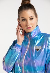 myMo - Waterproof jacket - blue holographic - 3