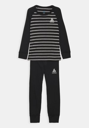 ACTIVE WARM ECO KIDS SET UNISEX - Tílko - black/grey melange