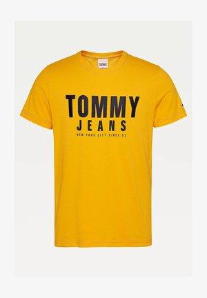 TOMMY  - Print T-shirt - yellow