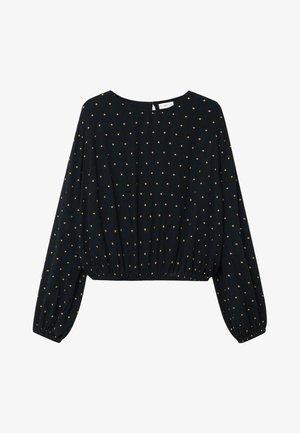 MONACO - Blouse - zwart