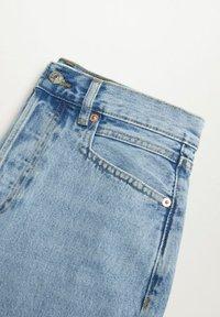 Mango - A-lijn rok - middenblauw - 6