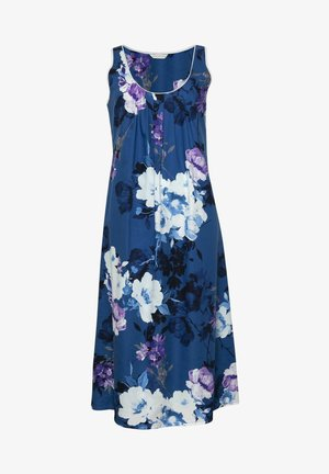 Yöpaita - blue floral