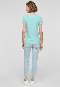 Q/S designed by - Print T-shirt - turquoise - 2