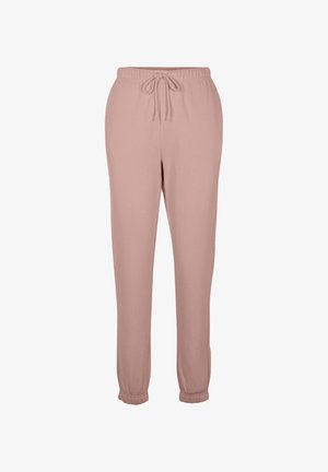 SWEAT - Tracksuit bottoms - old rose