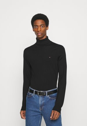 FINE GAUGE LUXURY ROLL  - Strickpullover - black