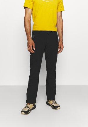 BOUTON - Outdoorové kalhoty - black