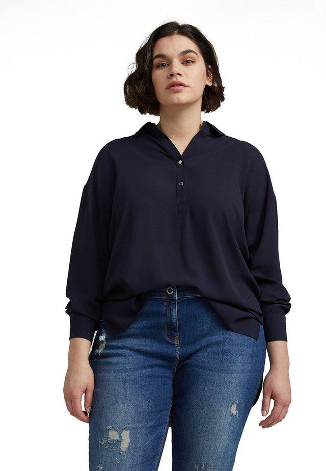 Long sleeved top - blu