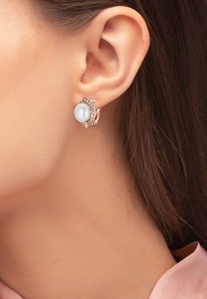 OHRSCHMUCK ELA - Earrings - rose goldfarbend