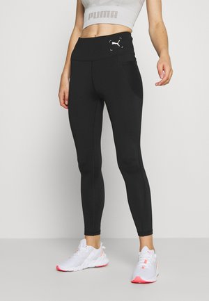 NU-TILITY HIGH WAIST 7/8 LEGGINGS - Punčochy - black