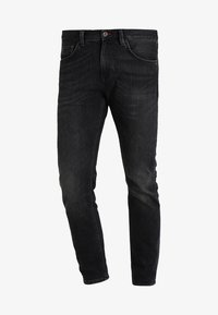 Tommy Hilfiger - BLEECKER - Straight leg jeans - washed black - 5