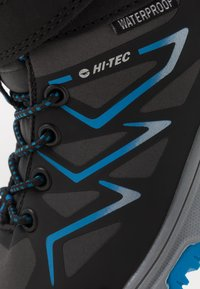 Hi-Tec - TRIO WP - Hiking shoes - dark grey/black/lake blue - 2
