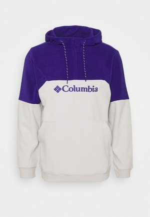 LODGEII HOODIE - Hoodie - nimbus grey heather/purple quartz