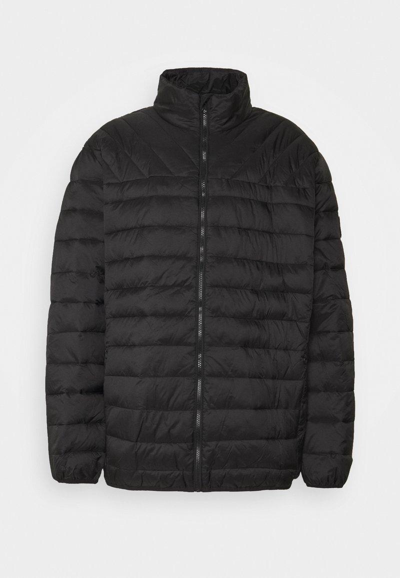 Burton Menswear London - BIG LIGHTWEIGHT PUFFER - Gewatteerde jas - black