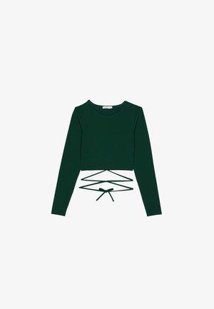 Pitkähihainen paita - evergreen