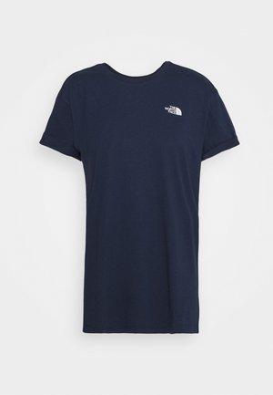 W TISSAACK TEE  - T-Shirt print - aviator navy