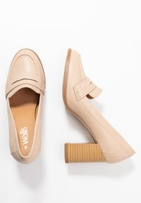 Wallis - CHARDONNAY - Classic heels - beige - 3