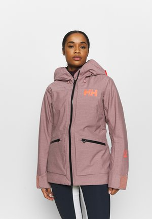 POWDERQUEEN 3.0 JACKET - Snowboard jacket - ash rose