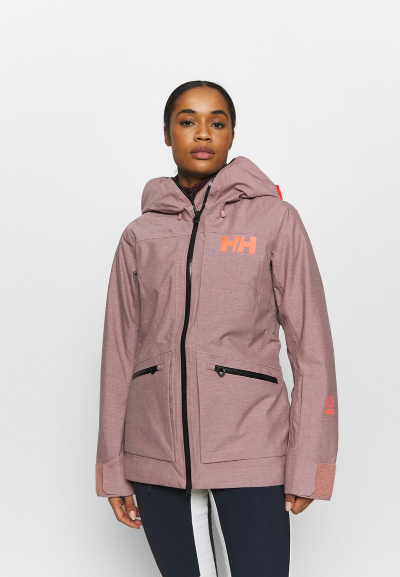 Helly Hansen - POWDERQUEEN 3.0 JACKET - Snowboard jacket - ash rose