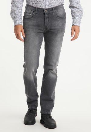 RANDO - Straight leg jeans - black used